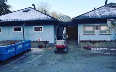 BV: Komplett Sanierung Sanitär-Gebäude